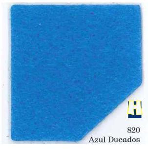 Moqueta ferial Azul Ducados para eventos