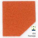 Moqueta ferial color Naranja