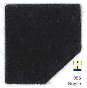 Moqueta ferial color negro
