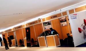 Moquetas feriales para congresos y eventos en Cáceres