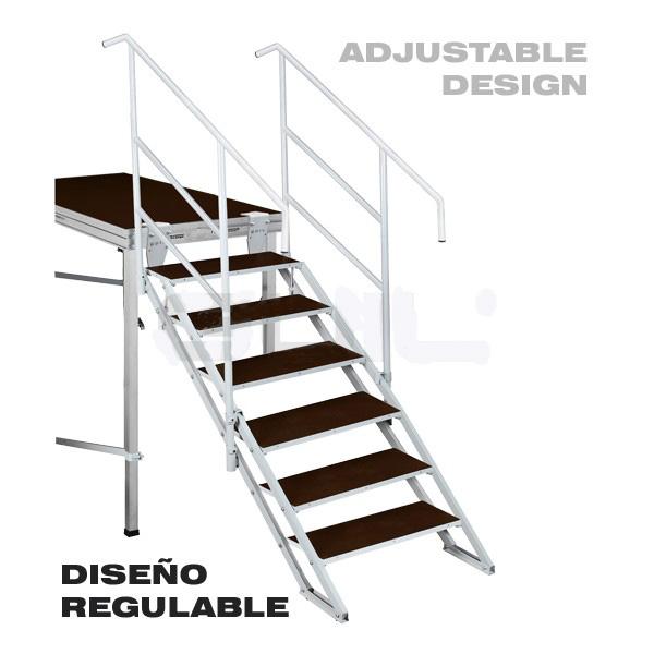 escaleras para escenarios snsecp06 plegables